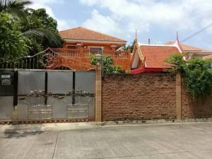 บ้านเดี่ยว บางบัวทอง : ขายบ้านเดี่ยว ม.เติมรักซอยวัดลาดปลาดุก บางบัวทอง นนทบุรี บ้านใหญ่ หลังมุม