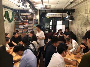 เซ้ง!! ร้าน Board Game Cafe ใกล้มหาลัย @ถนนพระอาทิตย์
