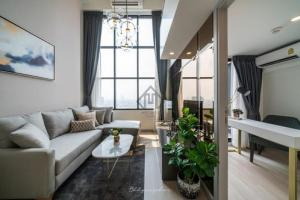 Brand new Luxury condo for rent, Knightbridge Prime Sathon, Duplex room, near Chong Nonsi BTS