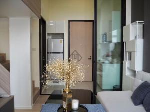 Chewathai Residence Asoke, Rama 9 condo for rent, Duplex room in loft style, near BTS Asoke